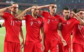 УЕФА проведёт расследование относительно турецкого военного приветствия