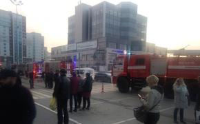 Пожар в торговом центре. В Рязани при эвакуации забыли про кинозал с детьми