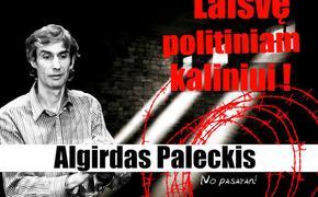 В Балтии прошли пикеты в защиту политического узника Альгирдаса Палецкиса