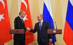 Константин Косачев назвал  переговоры Путина и Эрдогана триумфом дипломатии