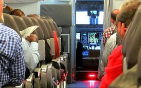 Появилось видео с дебошем Лидии Вележевой в салоне самолета