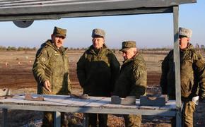 Замминистра обороны Российской Федерации Юнус-Бек Евкуров проверил готовность полигонов Западного военного округа