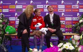 Александра Трусова с четверными прыжками стала победительницей этапа Гран-при в Москве