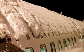 В аэропорту Владивостока из-за снегопада задержали 12 рейсов