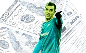 Десятка дорогостоящих футболистов России