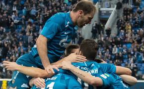 «Зенит» разгромил «Динамо» 3:0