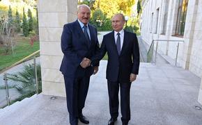 Путин и Лукашенко встретились накануне 20-летия  Союзного  договора