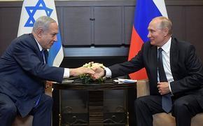Нетаньяху обсудил с Путиным безопасность Израиля, Иран и Сирию