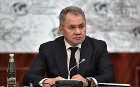 Шойгу заявил о деградации отношений РФ и НАТО