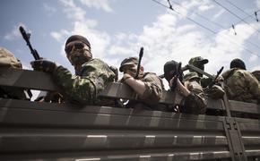Видео ракетных ударов ополчения Донбасса по позициям и технике ВСУ выложили в сеть