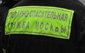 Движение в районе пожара на складе в Москве перекрыто