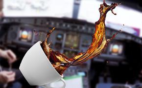 Мужчина сломал нос пассажирке самолета за пролитый на него кофе во время полета