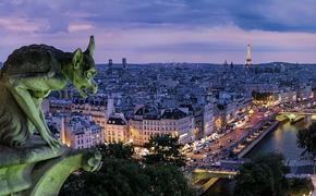 Пробки в Париже достигли рекордных 630 километров