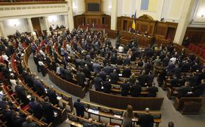 В Верховной раде заявили, что украинцы русский язык