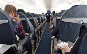 Экипаж самолета, совершившего посадку в Новосибирске, привязал пьяного дебошира к креслу
