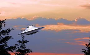 В Лас-Вегасе на видео попал сверкающий НЛО