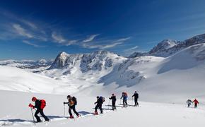 Любителей лыжных прогулок в Сочи ждет маршрут на Бзерпинский карниз