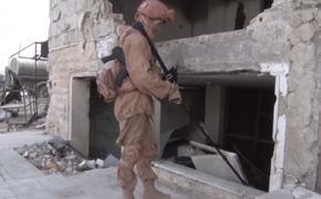 Опубликовано видео работы российских роботов в Сирии