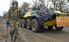 В армии России заявили о готовности перебросить в Донбасс инженерные войска