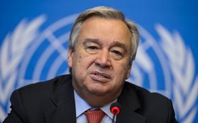 Глава ООН обеспокоен закрытием нефтяных портов и месторождений в Ливии