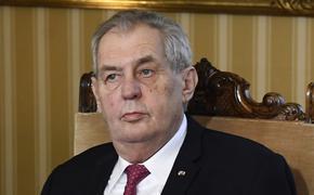 Глава Чехии оценил влияние президента России на политической арене