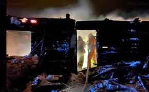 В башкирской деревне при пожаре погибли три человека