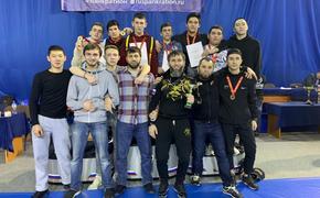В Звенигороде завершился чемпионат Московской области по панкратиону
