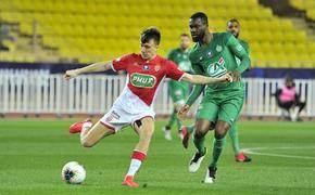 Россиянин Головин снова провел посредственный матч за французский «Монако»