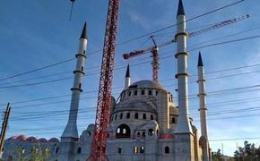 В  Симферополе  соборную мечеть  достроят до конца 2020 года