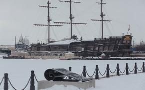На Петербург ночью обрушится снегопад