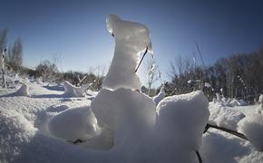 В городе  Кизел под Пермью застрявшую в снегу