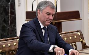 В Госдуме назвали самый важный закон, принятый в уходящем месяце