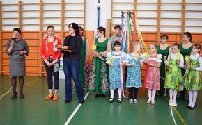 Ульяновские школьники позанимались гимнастикой с чемпионкой Европы