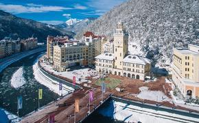 Курорт «Роза Хутор» стал самым популярным местом в России для отдыха весной