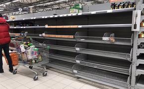 Не по дням, а по часам: полки продуктовых магазинов не успевают заполняться
