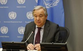 Генсек ООН предрек самый тяжелый экономический кризис со времен Второй мировой