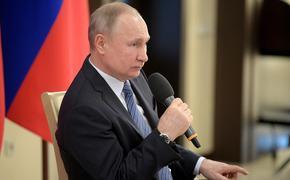 Путин считает, что ситуация с коронавирусом в РФ усложняется