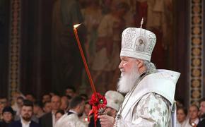 Видео, как Патриарх Кирилл объезжает Москву с иконой Божией Матери