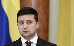 На Украине заговорили о панике Зеленского