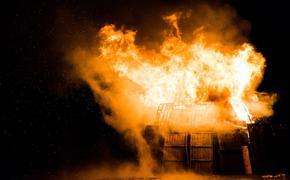 В Челябинске произошел пожар в жилом доме, погиб человек