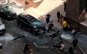 В Москве в здании бизнес-центра на 2-й Брестской улице произошел взрыв