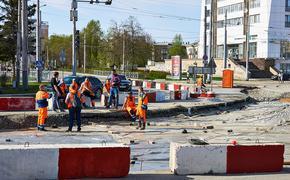 Движение на улице Карпинского ограничено на время реконструкции