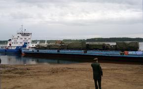 Енисейское пароходство и Лесосибирский порт обеспечили отправку техники Миноборн