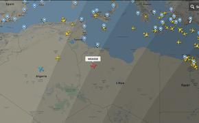 В небе над Ливией замечен «летучий голландец»