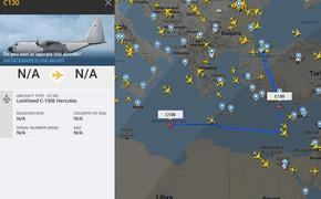 Из Стамбула летят сразу два военных транспортника по ливийскому маршруту