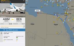 В Ливию прилетел странный венгерский борт