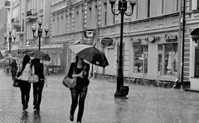 На Москву обрушились тропические ливни, тоннель на улице Народного ополчения полностью залило водой