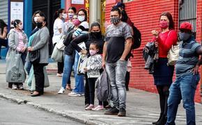 Хуже, чем в Италии. В Бразилии число жертв от «ковида» уже зашкаливает за 34 000