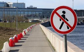 В Петербурге закрыли парки и скверы