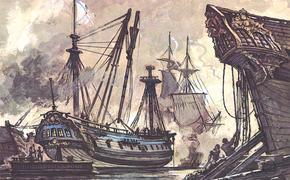 В этот день в 1773 году два российских боевых корабля обратили в бегство турецкую эскадру